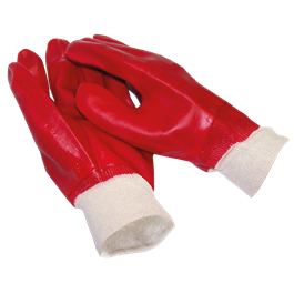 red-pvc-gloves--knitted-wrist