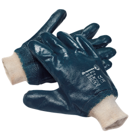 blue-nitrile-gloves--knitted-wrist-